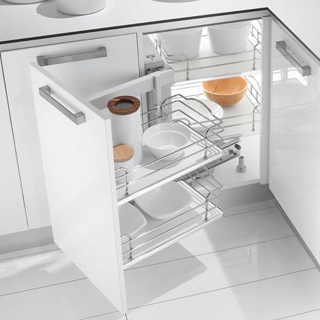 Inoxa accessori per mobili cucina incasso store for Accessori pensili cucina