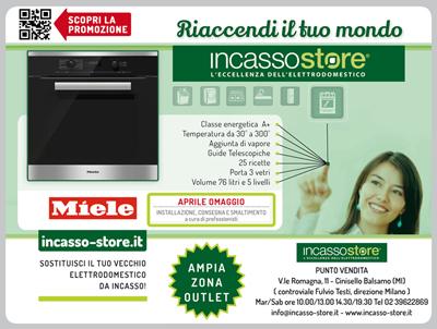 Promo Miele QR Corsera Ed. Milano + ViviMilano